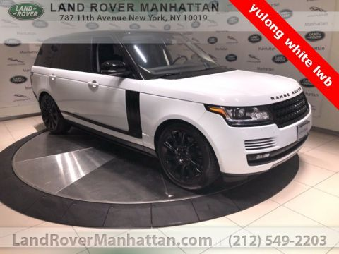 Certified Pre-Owned 2016 Land Rover Range Rover 5.0L V8 Supercharged